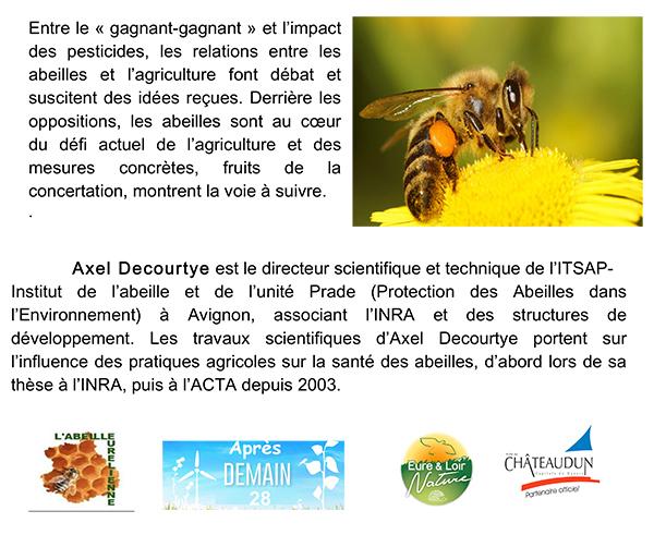Conférence sur les abeilles