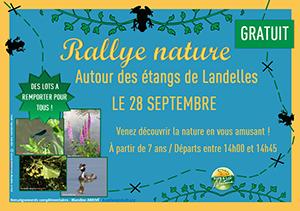 Retour sur le Rallye Nature aux étangs de Landelles