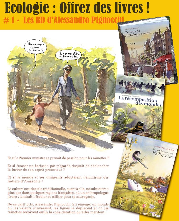 Écologie – Choix de livres à lire, à offrir : BD, Romans, Poésie, Revues…