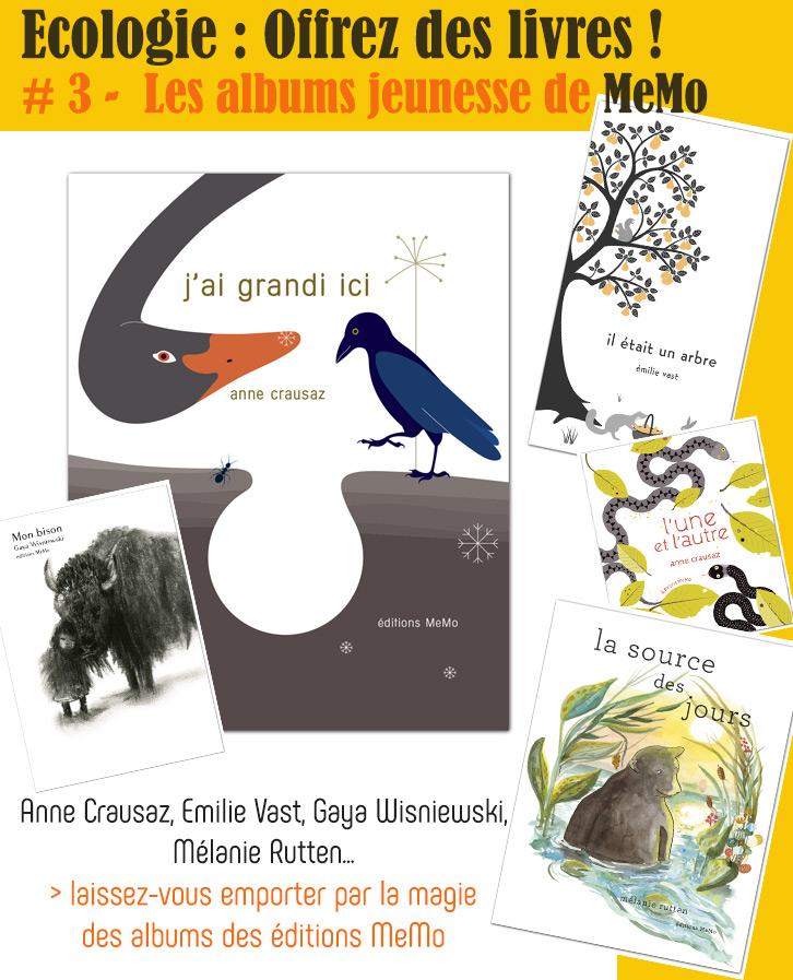 Écologie – Choix de livres à lire, à offrir aux enfants : Albums, Revues…