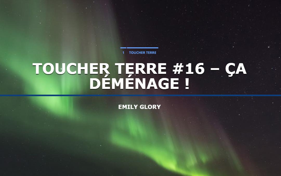 Écoutez Toucher Terre #16 en podcast